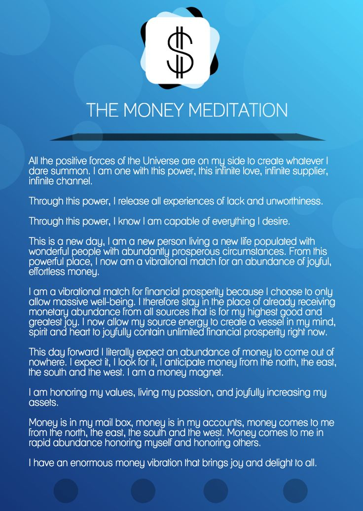 The Money Meditation (for manifesting financial abundance)  money success business meditation wealth finance affirmations entrepreneur meditating entrepreneur tips tips for entrepreneur daily affirmations positive affirmations
