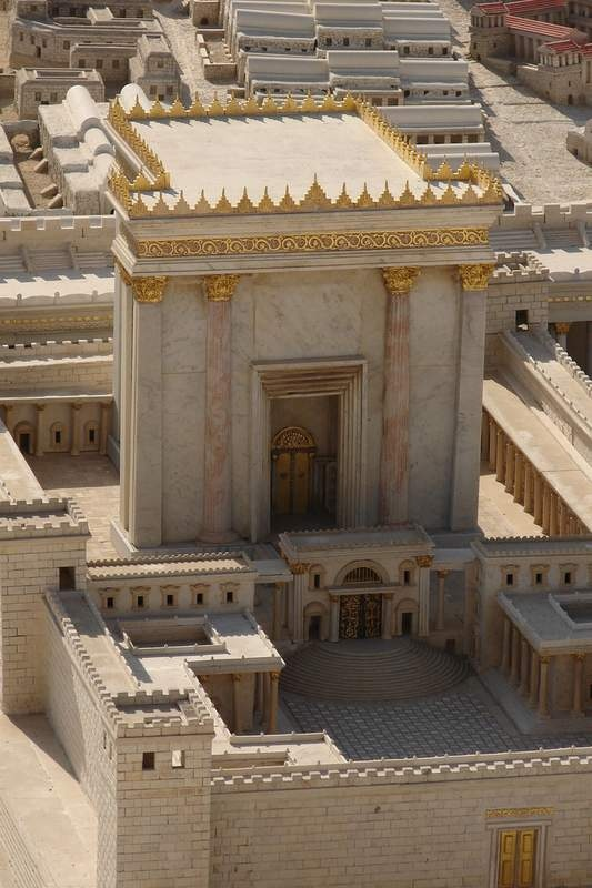 Jerusalem B.C.--before the fall of Jerusalem under the Romans.