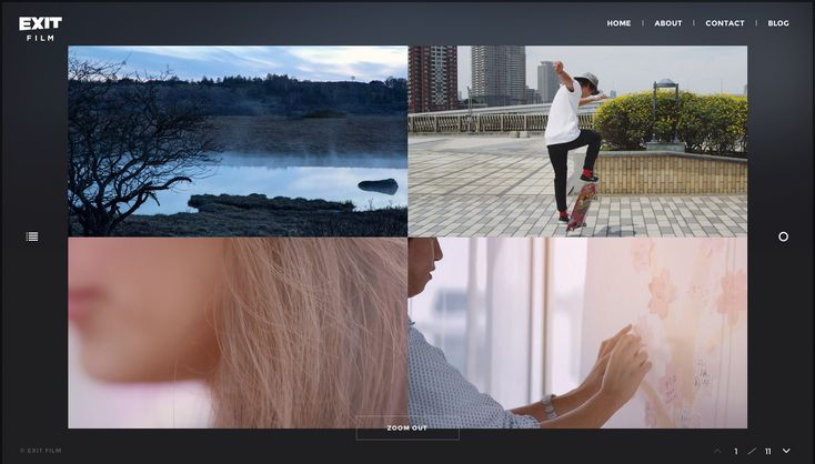 EXIT FILM - Site of the Day November 30 2014