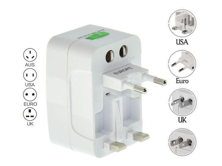 Universal Travel Adapter Traveladapter Adapter Universaladapter Us To Eu Eu Universal Socket Adapter Ideas Of Unive