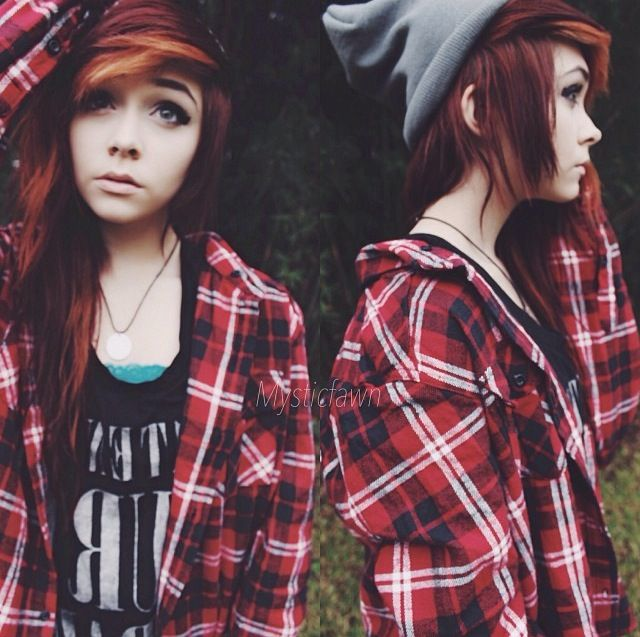 you can never go wrong with your boyfriends or dads or even grandpas flannel shirts.