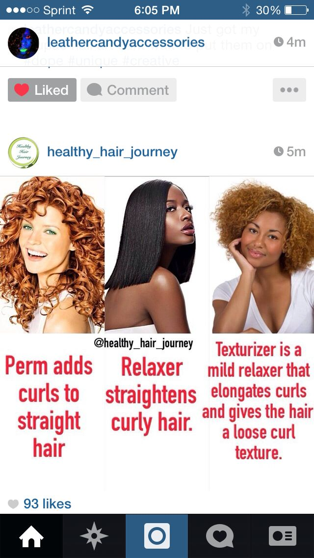 Perm Vs Relaxer Vs Texturizer Loose Curls Hairstyles Healthy Hair Hair Journey