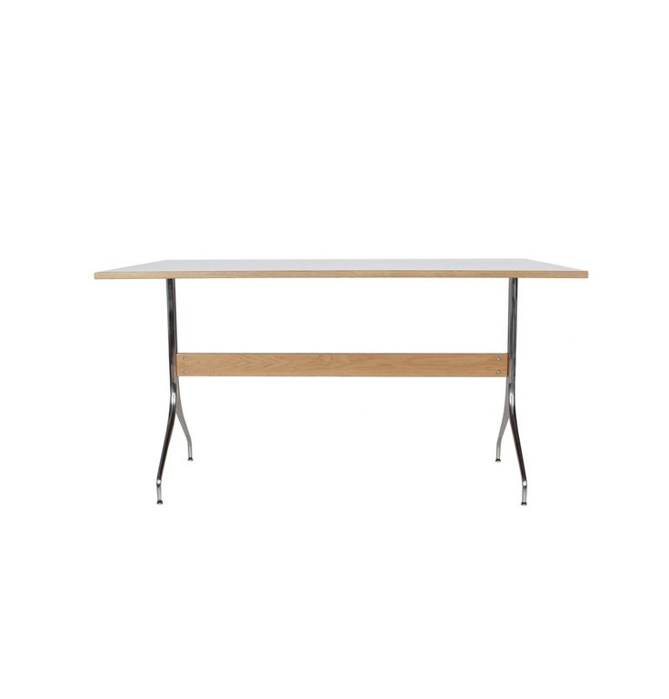 Matt Blatt   REPLICA GEORGE NELSON SWAG LEG DINING TABLE By George Nelson  $895