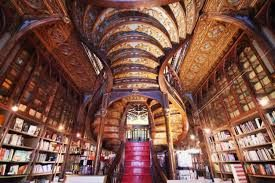Travel With MWT The Wolf: Famous Library around The planet Livreria Lello a ...