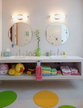 23 kids bathroom design ideas to brighten up your home - Bathroom Designs Kids