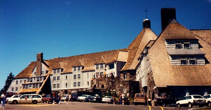 Timberline Lodge at Mt Hood in Oregon and the WPA