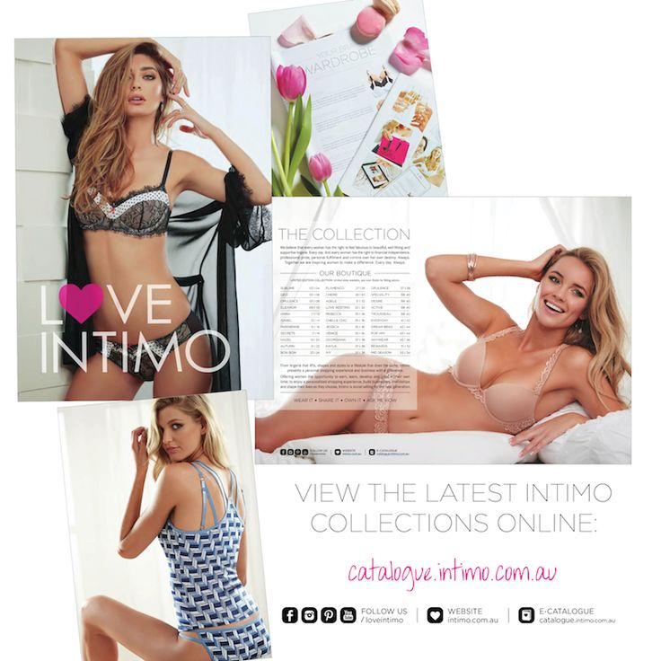 Our fabulous July Catalogue is live! View it online (and all of our gorgeous new collections) here: http://catalogue.intimo.com.au/#folio=1
