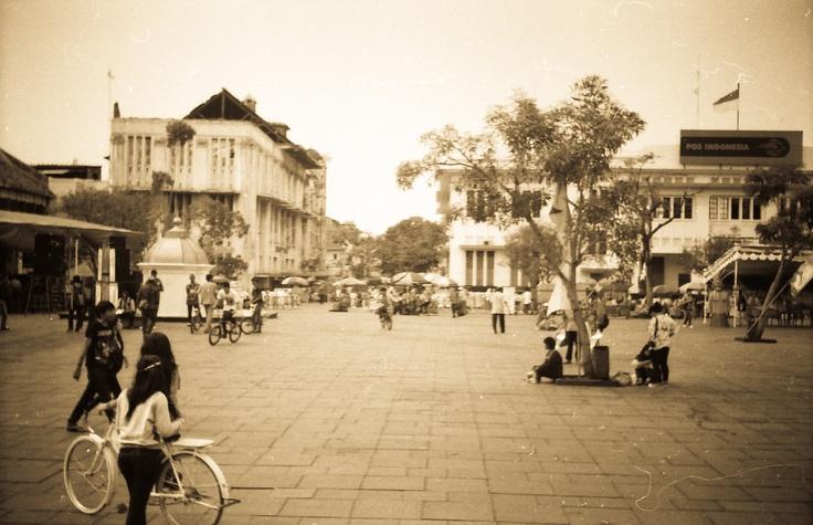 Kota Tua, Jakarta on Sunday    Fujica M1 w/ Kodak Color
