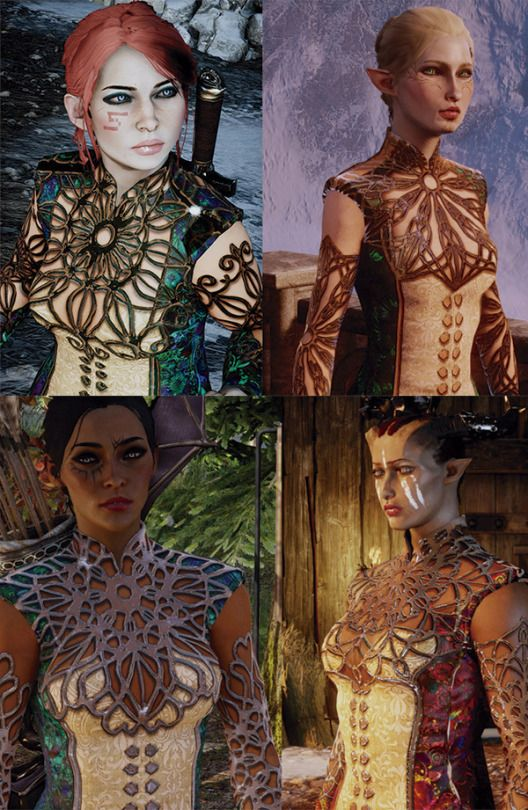 DF EF HF QF Filigree Pajamas at Dragon Age: Inquisition Nexus - Mods and community