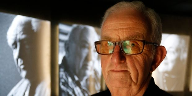Bob Narev's story features in Shadows of Shoah, an exhibition which tells the stories of concentration camp survivors, that is on show in Whangarei. Photo / John Stone