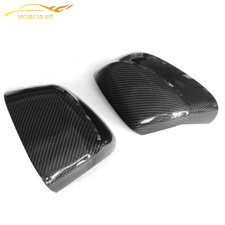 98.88$  Watch now - http://aliseq.worldwells.pw/go.php?t=32395996781 - Car Mirror Cover Auto Rear Mirror Fender Carbon Fiber Replace Type Fit for BMW F25 F26 F15 F16 X3 X4 X5 2014 UP Car Styling 98.88$