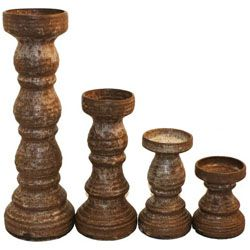 McCarty Pottery in Nutmeg, small, medium, and large