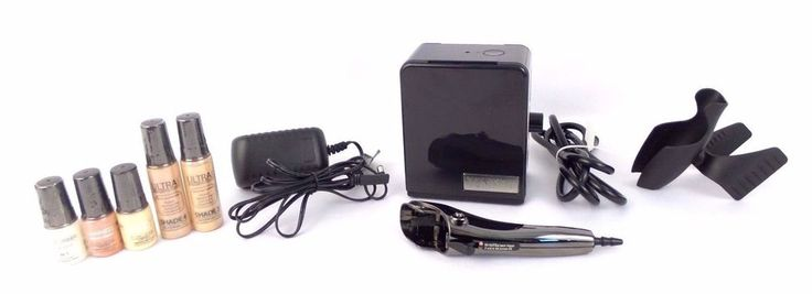 Temptu Black Air Brush Machine Model 08500-05 + Luminess Starter Kit #Temptu