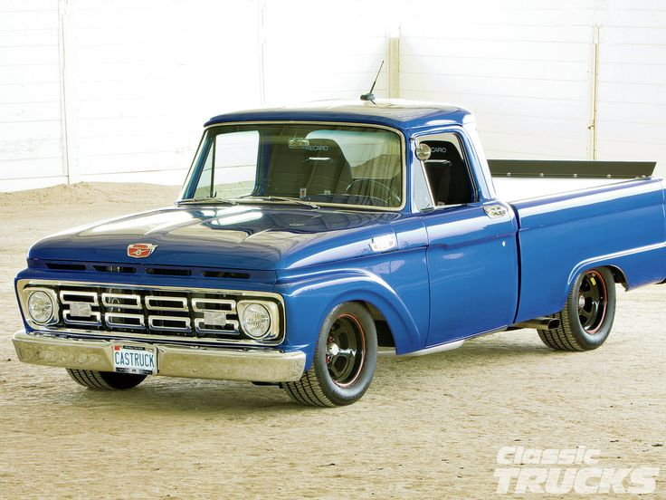 153 best 1964 ford f100 images on pinterest ford trucks for Ford motor company description