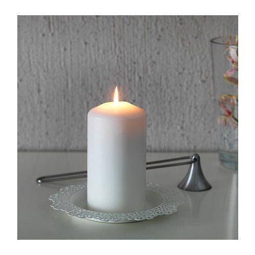 IKEA-SKURAR-Base-per-candela-bianco