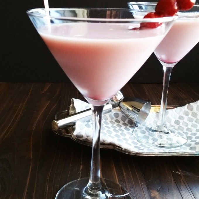 White Chocolate Cranberry Pink Martini