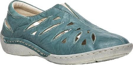 Women's Propet Cameo Slip On Shoe - Aqua Full Grain Sheep Leather with FREE Shipping & Exchanges. With an open and breathable design, Propet's Cameo Slip On Shoe expertly blends comfort and style.