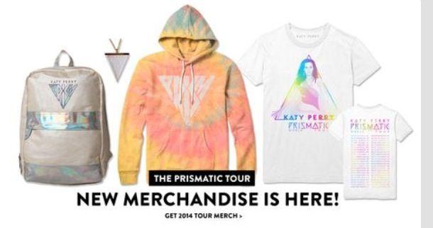Katy Perry Merchandise! ✌️ 10~2~14