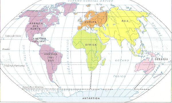 mapamundi,Geografía Universal de Aplicaciones Didácticas globo terrestre primaria secundaria terciaria cuaternaria