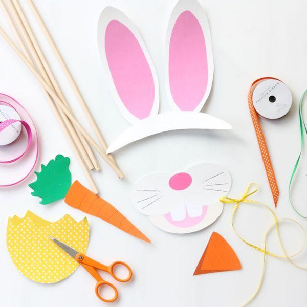 Easter Photo Printables | Easy to make + Free to Print!