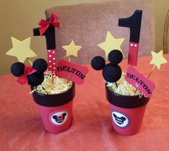 352 Best Mickey Party Images On Pinterest Mouse Parties