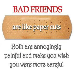 Image result for avoid bad friends