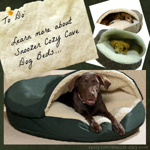 Snoozer Cozy Cave Dog Beds #snoozercozycave  Discover why the Snoozer Cozy Cave dog bed is the most sought after solution to bedding for dogs large and small!