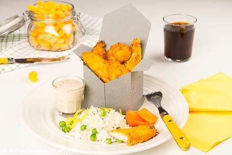 Recept - Kyckling med cheese doodles. Krispiga och kryddiga kycklingbitar. Servera med ris, någon grönsak och lite dipsås. #cheesedoodles #cheesedoodleday