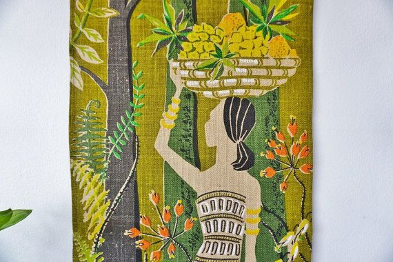 Swedish Tapestry Nordic art/ Swedish vintage by ScandicDiscovery