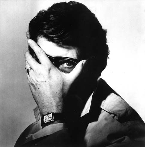 Monsieur St. Laurent, almost captured, by Irving Penn, 1983