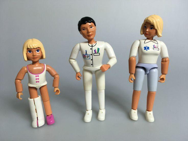 LEGO® Belville 3x Figur Frau Kind Mann für Puppenhaus Krankenhaus Arzt Doktor in Spielzeug, Baukästen & Konstruktion, LEGO   eBay!