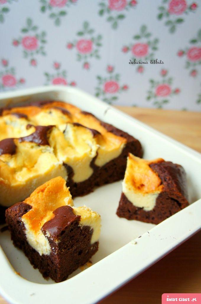 Ciasto cielak- sernik