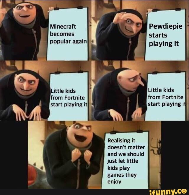 W4 Little Kids From Fortnite Realising It Doesn T Matter And We Should Just Let Little 1 Enjoy Ifunny Funny Memes Dnd Funny Memes