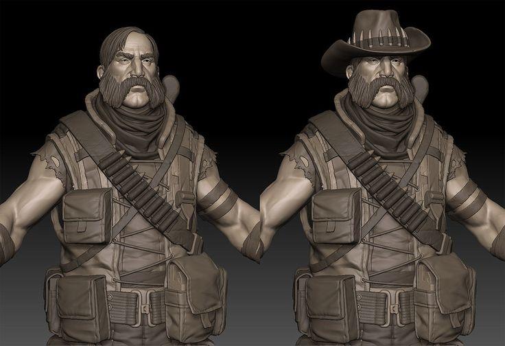 ArtStation - character, Cedric Seaut