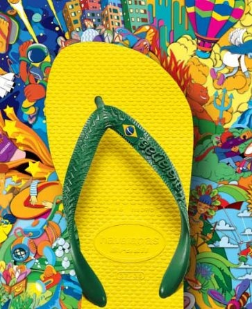 Our classic Havaianas Advertisement