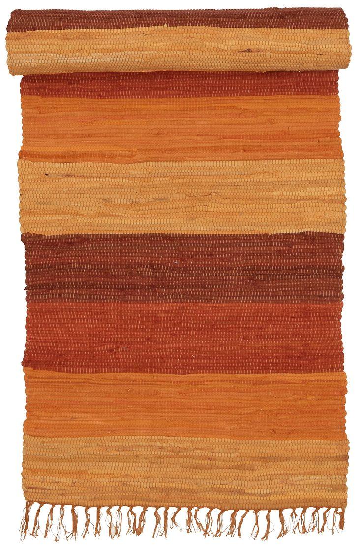 HARMONI trasmatta 70x150 cm i färgerna Grön, Lila, Orange, Blå, Grå, Brun inom Mattor - Jotex