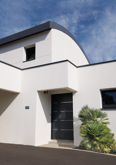 13 best porte d 39 entr e cotim 11 images on pinterest doors driveway gate and aluminium doors for Porte entree alu contemporaine