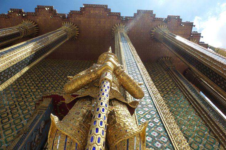 Grand Palace Bangkok, Bangkok, Thailand (dag 1)