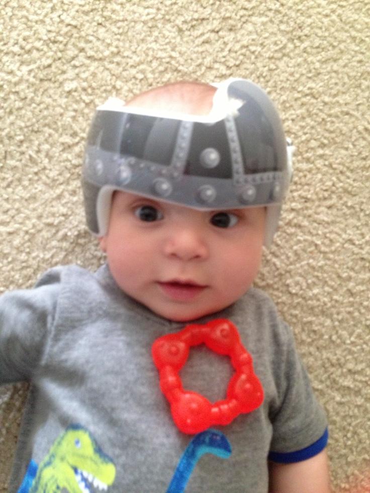 Nicks viking helmet doc band wrap