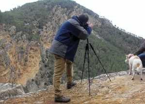 Sendero Chorros de Barchel, Cortados sobre el Rio Turia. Curso Fotografia de la Naturaleza y Tratamiento de Imagen en Benagéber (Valencia)