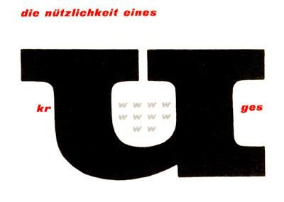 experimenta typographica by Willem Sandberg (1956)