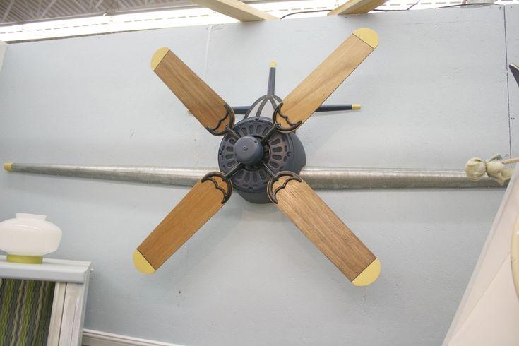 Aeronautical Ceiling Fan : Ideas about airplane ceiling fan on pinterest