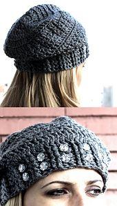 Ravelry: Crochet Slouchy Beanie pattern by Beauty Crochet Pattern