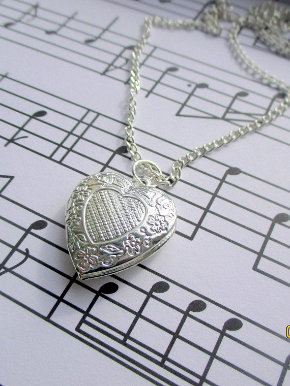 Heart Necklace-childrens Jewellery-girls heart charm