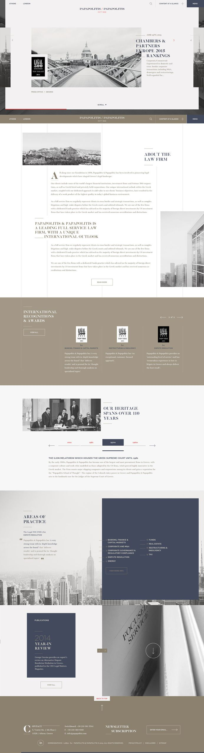 Papapolitis Website By Kommigraphics Design Image Management In Web