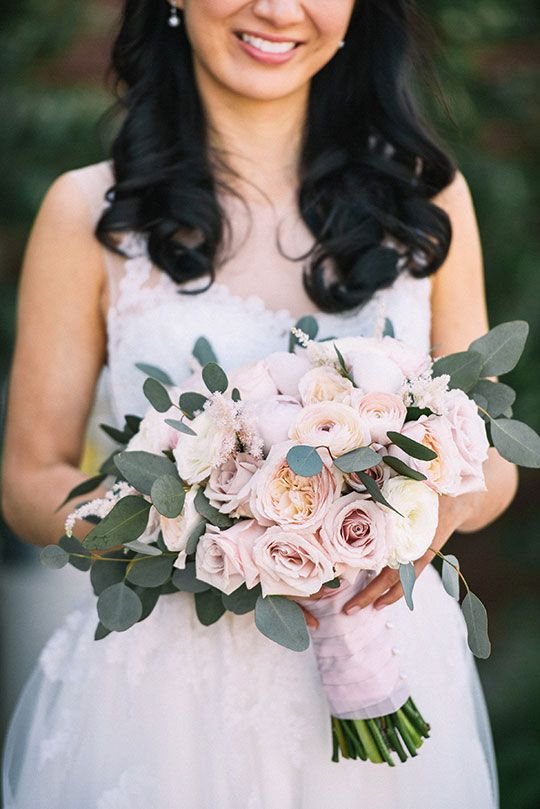 Herman Au Photography   Reception Location & Catering: Pacific Club   Coordination: ME Weddings & Events   Floral Design: Florals by Jenny   Hair & Makeup: Grace Lin via CeremonyMagazine.com