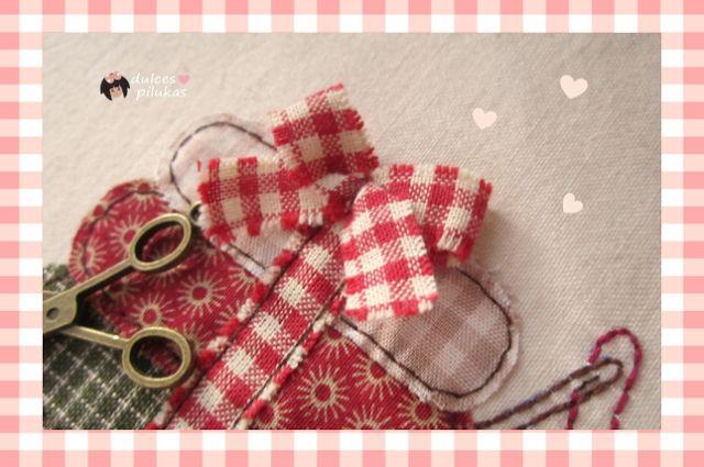 : Cuadrito aplicaciones costura