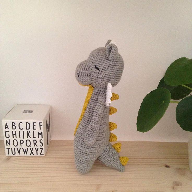 Dragon by unseizeoctobre. Crochet pattern by Little Bear Crochets: www.littlebearcrochets.com ❤️ #littlebearcrochets #amigurumi