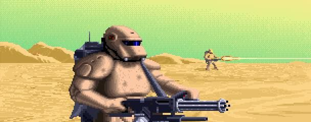 The Harkonnen troops from the old Dune 2 RTS game.
