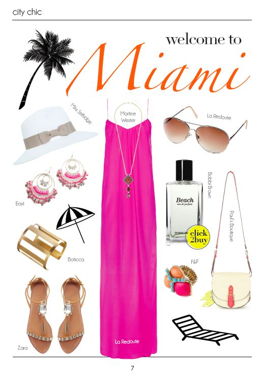 Miami fashion #style #inspiration